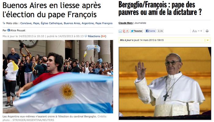 La rue argentine a-t-elle fêté l'élection du Pape ?