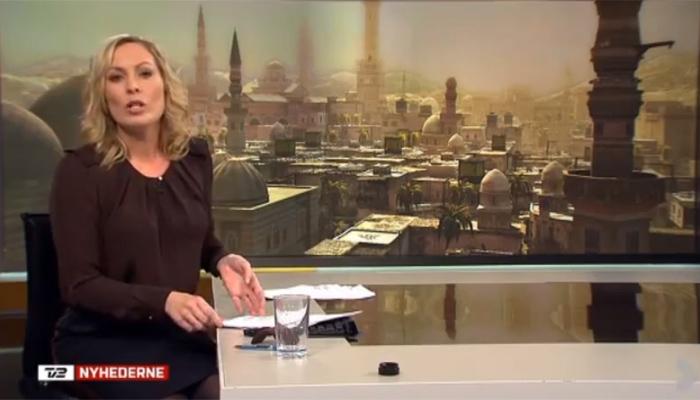 Syrie : une photo de jeu vidéo dans un JT danois