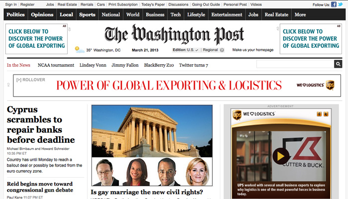 Le Washington Post va proposer du contenu payant