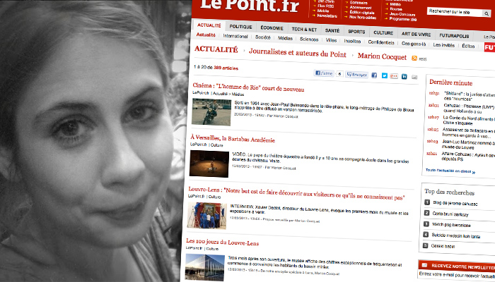 Mini-remaniement au magazine Le Point