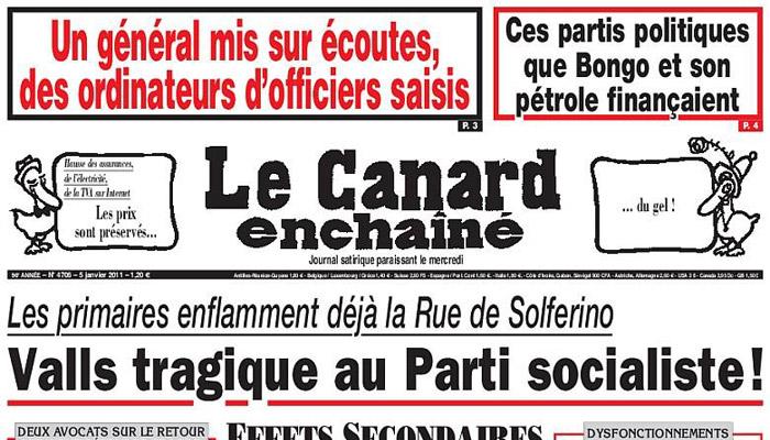Le Canard Enchaîné condamné pour diffamation