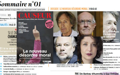 Causeur en kiosque