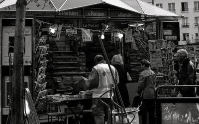 Les kiosques de Paris fêtent leurs 150ans