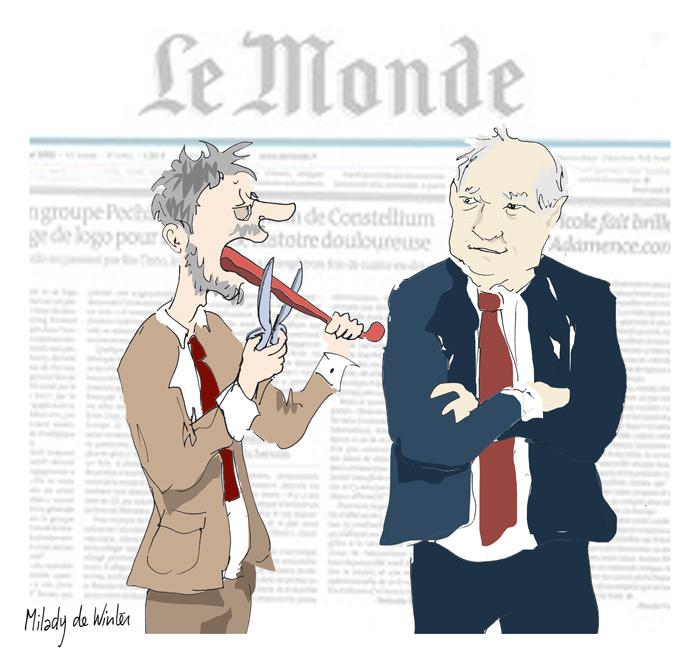Le Monde : Pierre Bergé a été entendu