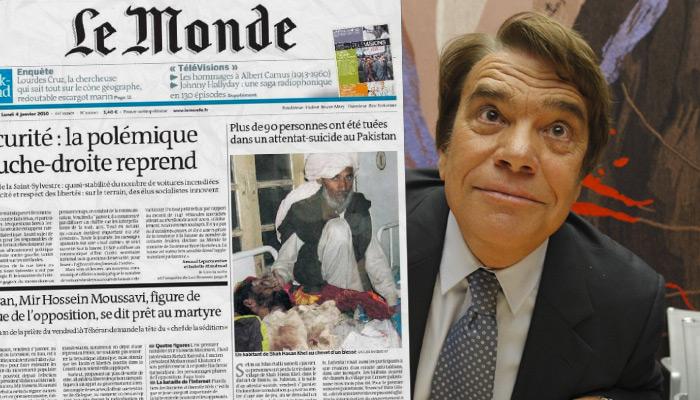 Exclusif : Bernard Tapie rachète Le Monde