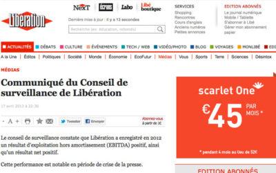 Libé : Demorand écarté de la direction de la rédaction