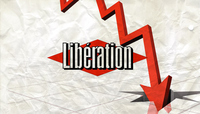 Les ventes de Libération s'écroulent