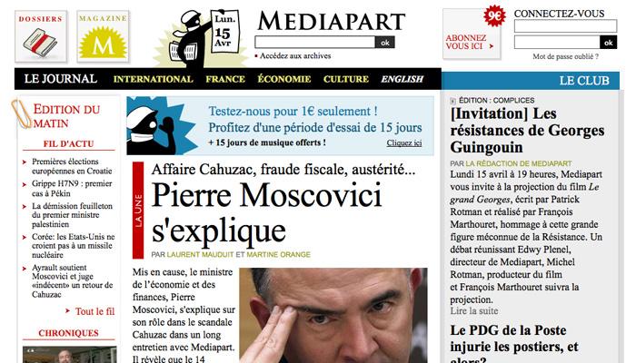 Mediapart a subi une attaque informatique