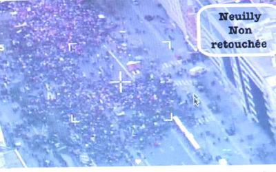 Manif pour Tous : les photos de la police retouchées?