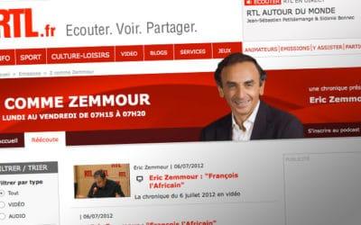 Médias : Éric Zemmour fait son retour au Figaro