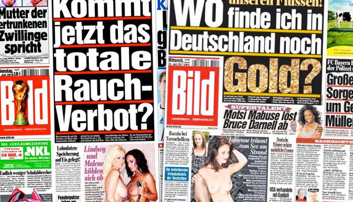 Le site du quotidien allemand Bild bientôt semi-payant