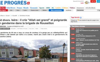Silence des médias après l'agression d'un gendarme