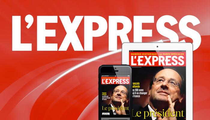 L'Express veut « réinventer la fonction du news magazine »