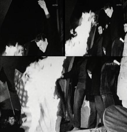 Images extraites du documentaire de Romain Goupil : « mourir à 30 ans »