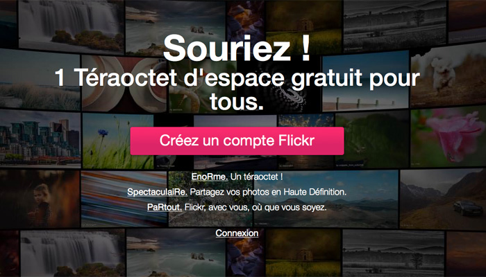 Yahoo ! offre une refonte à Flickr