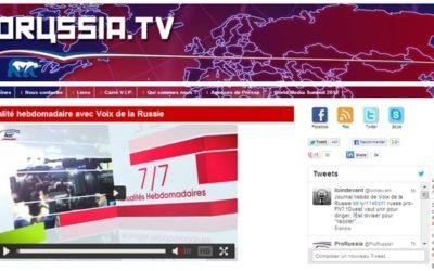Médias alternatifs, le retour de la Russie