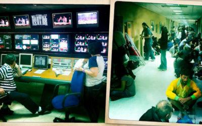 La télévision publique grecque émet dans la clandestinité