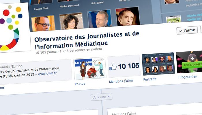 Facebook : vous êtes plus de 10000 à suivre l