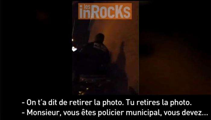 Un journaliste agressé par des agents de Montreuil