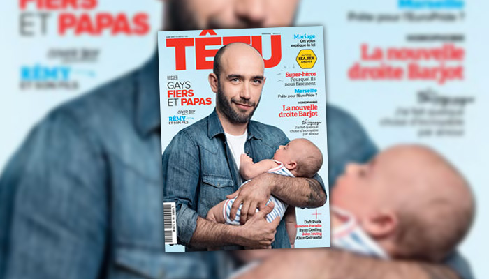 Têtu : des cover boys au papa gay