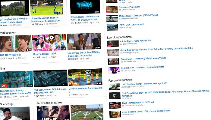 34,4 millions de vidéonautes français en avril 2013