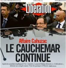 « Libération perd la tête : il transforme en information une rumeur sur Fabius en prétendant démentir une non-information de Mediapart