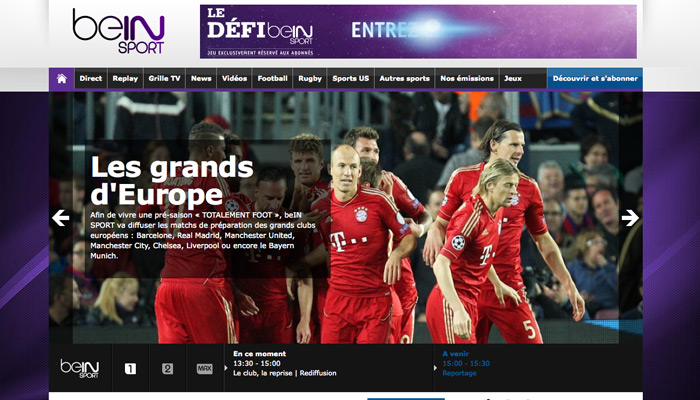 Canal+ attaque BeInSport pour « concurrence déloyale »