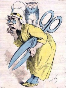Madame Anastasie, figure satirique de la censure
