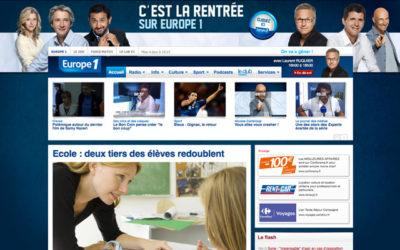 Publicité : Europe 1 « en mode électoral»