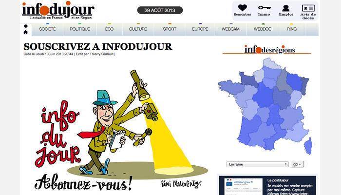 L'aventure Infodujour.fr commence