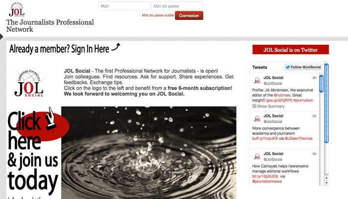Un nouveau réseau social réservé aux journalistes professionnels