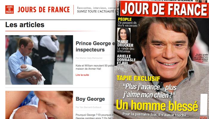 Jours de France : Lafont Presse contre Le Figaro