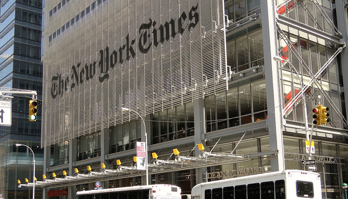 The New York Times est officiellement de gauche