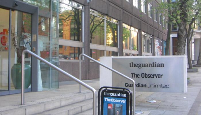 The Guardian : des difficultés malgré la qualité
