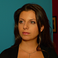 Margarita Simonyan, rédactrice en chef de Russia Today