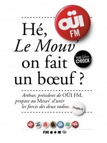 Oüi FM veut secourir Le Mouv'… et les contribuables