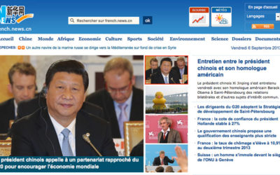 Chine Nouvelle dénonce les médias occidentaux