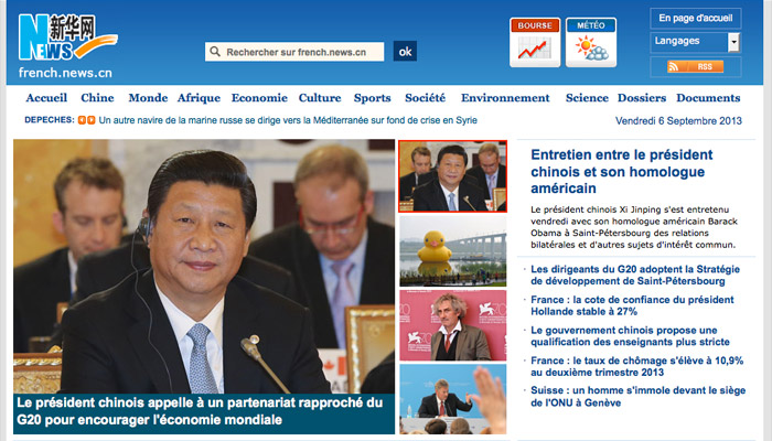Chine : des médias pour une « orientation politique correcte »