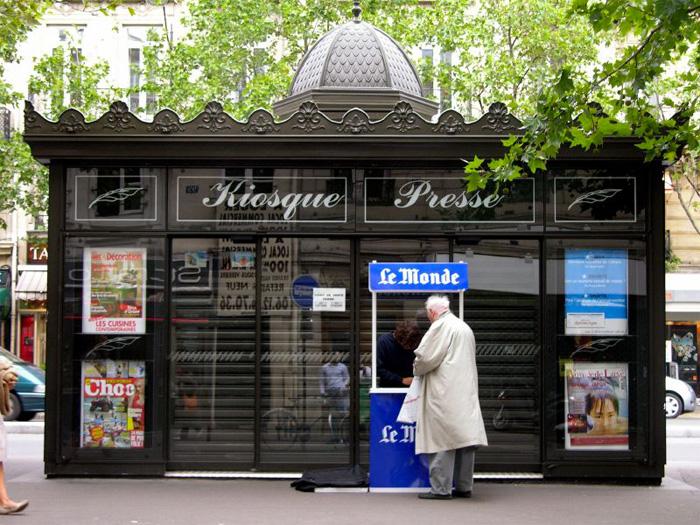 Baisse des tirages de journaux en France