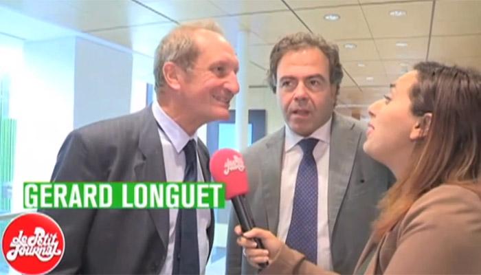 Gérard Longuet se moque des journalistes