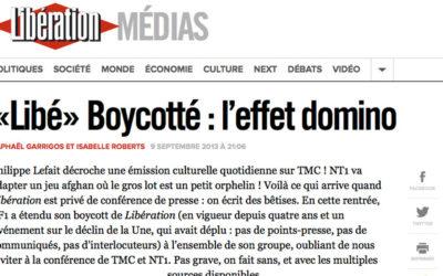 Libération affirme être boycotté par TF1 depuis 4 ans