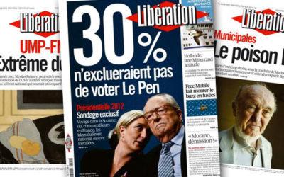 Front National : « Libé » repart en guerre!