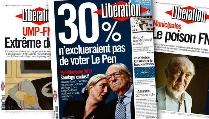 Front National : « Libé » repart en guerre !
