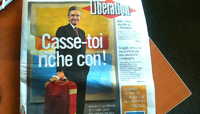 Bernard Arnault renonce à poursuivre Libération