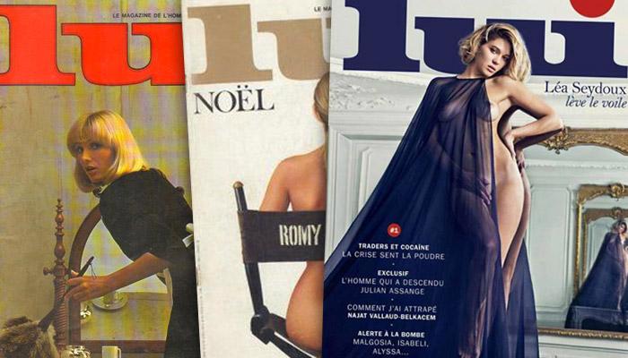 Renaissance du magazine « Lui »
