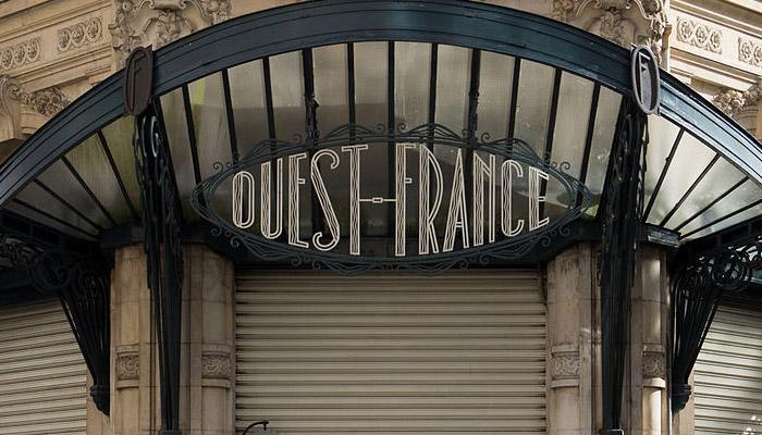 Gros vent pour « Ouest France »