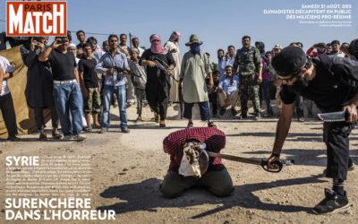 Syrie : Le Times et Paris Match « montrent l'insoutenable »