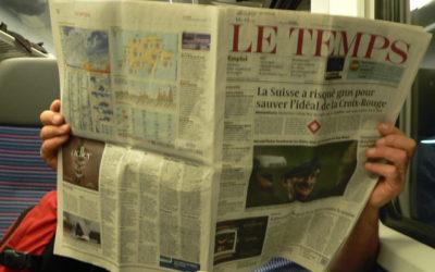 Le journal suisse Le Temps est à vendre