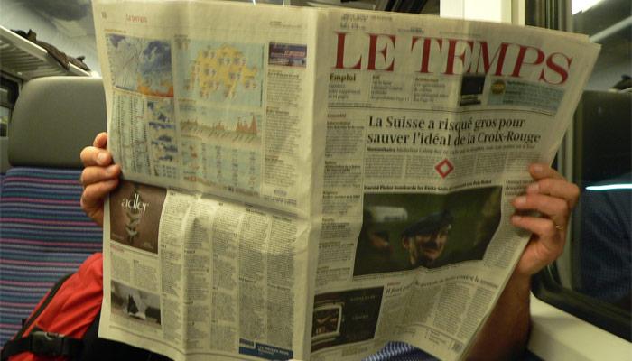 Le journal suisse Le Temps est à vendreLe journal suisse Le Temps est à vendre