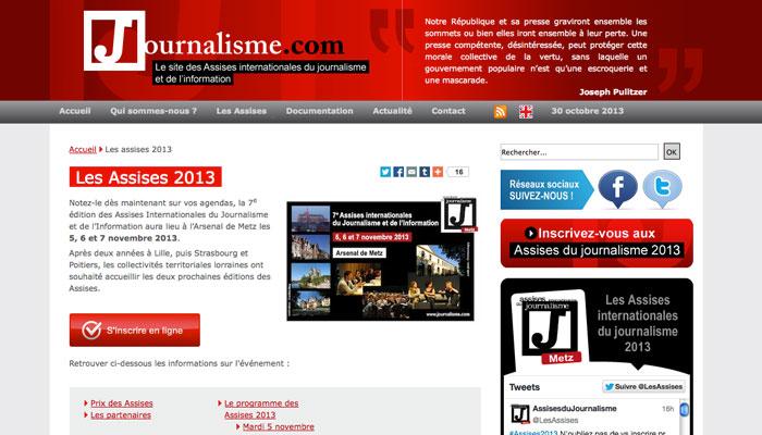 Les Assises du journalisme cette année à Metz